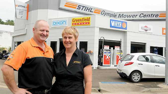 Ross and Robyn Honnery have expanded the Gympie Mower Centre, showing the confidence they have in Gympie. With the wet weather sending lawns out of control, Ross and Robyn are ready with advice for homeowners.