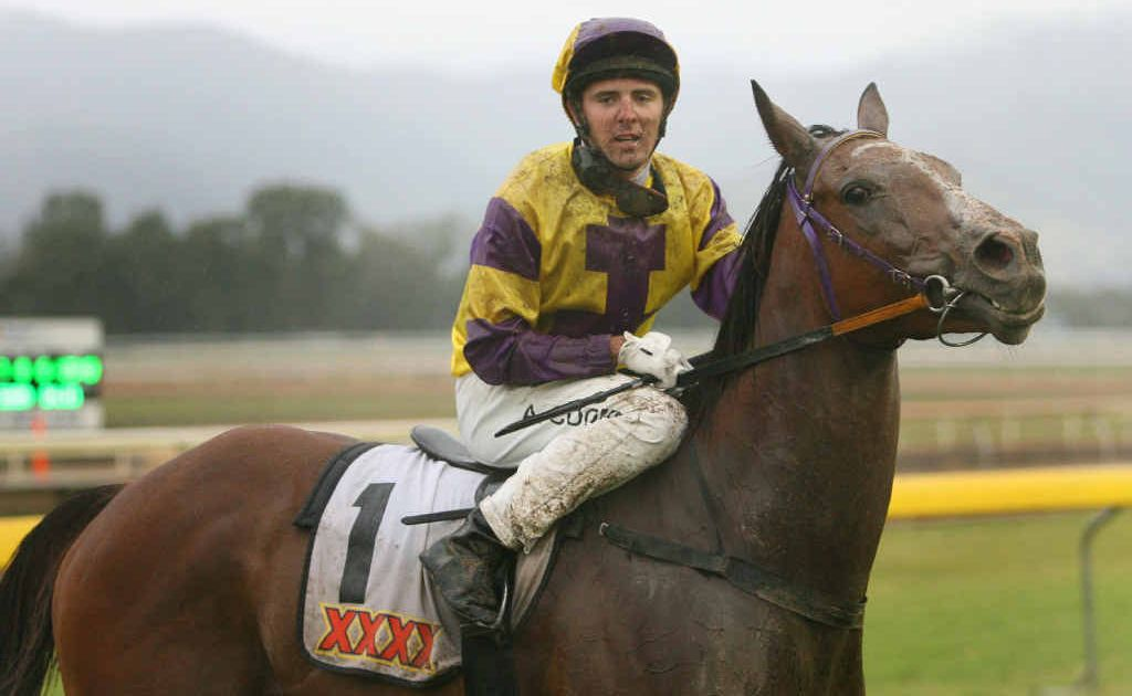 Adrian Coome, one of provincial Queensland's leading jockeys, and Trinity Bannon are out of action while laboratories test second samples taken from them at a Rockhampton race meeting on January 12.