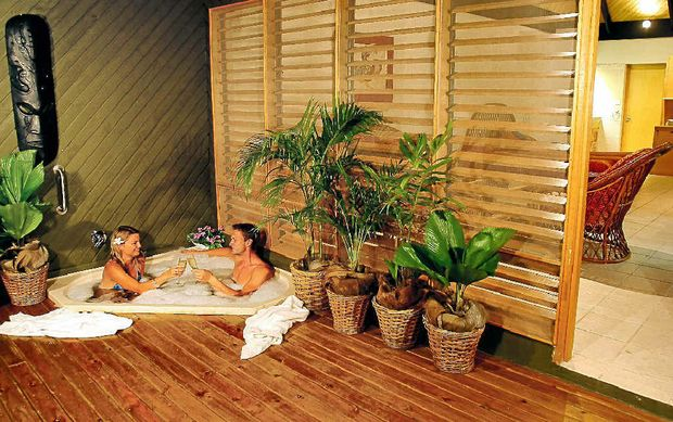 INDULGE YOURSELF: A Spa Bure at Sonaisali.
