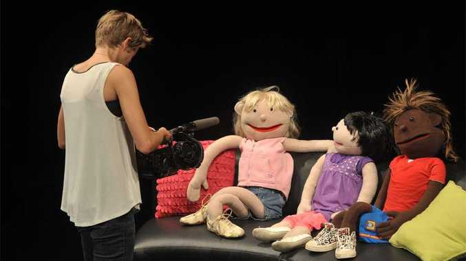 Filming of a new puppet show DVD for the Daniel Morcombe Foundation.