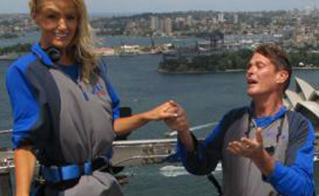 David Hasselhoff has proposed to his girlfriend Hayley Roberts for a fifth time.