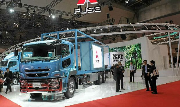 IT'S a brave new world at Fuso, with its environmental commitment on show at the Tokyo Motor Show.