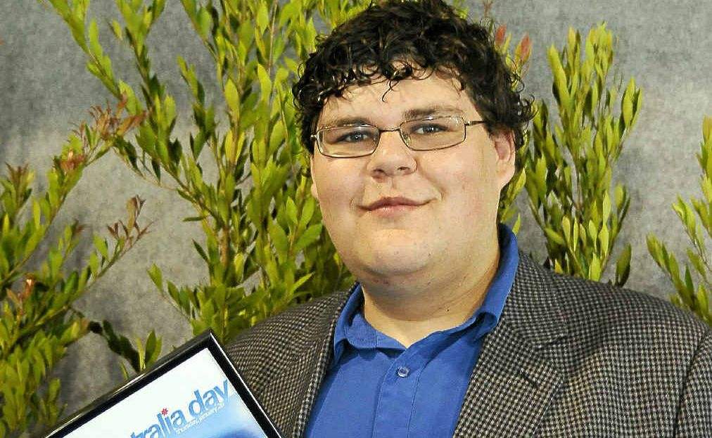 YOUNG CITIZEN OF THE YEAR: Jason Sines Jr, from Ballina.