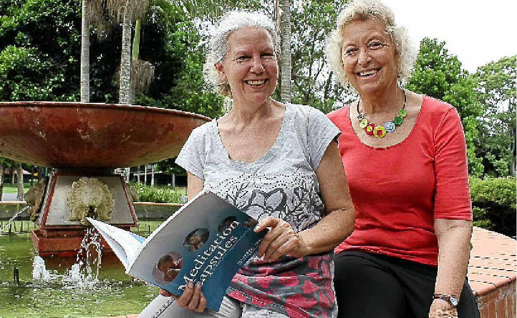 Mindfulness teachers Shakti Burke and Bobbi Allan.