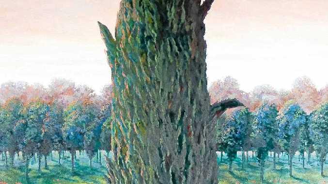 Lone Pine by Leo Robba was a finalist in last year's Gallipoli Art Prize.