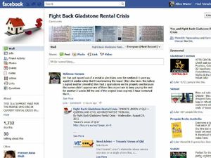Tenants reveal crisis online