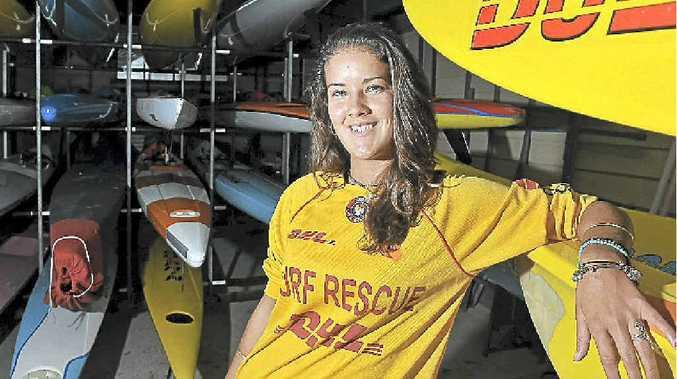 Nikita McDonald hopes to help with the next bronze medallion course at Kawana Waters Surf Life Saving Club.