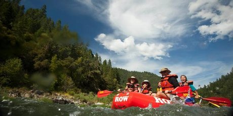 You can expect to get wet at some point on a trip down the Rogue River but hot sun quickly warms chilled limbs.