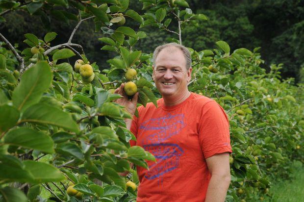 Heinz Gugger Persimmons grower in Amamoor