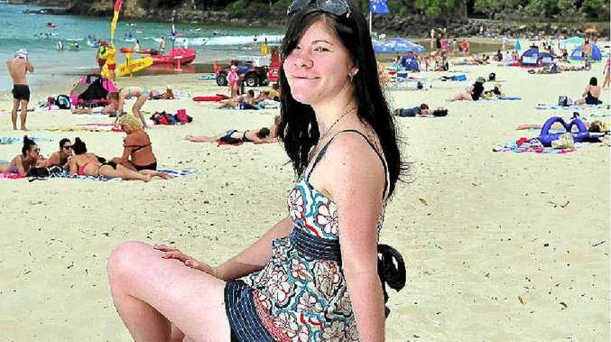 Gympie local Megan Perry is one of a handful of Australians diagnosed with Friedreich's ataxia.