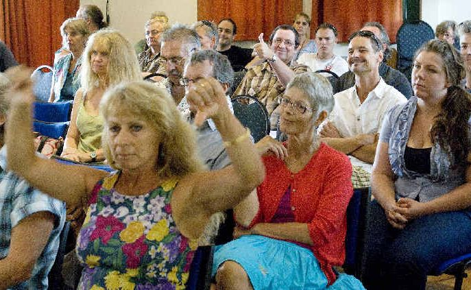 There were mixed views at the NSW Planning Assessment Commission meeting at the Byron Bay Community Hall yesterday.