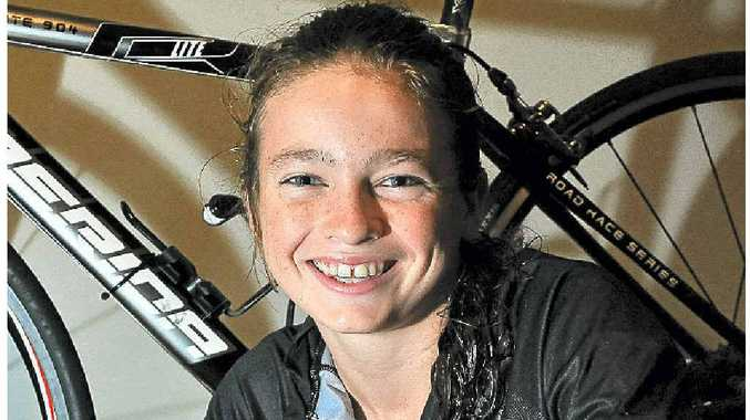 Claire Winterbourne will compete in the Queensland Tri Series.