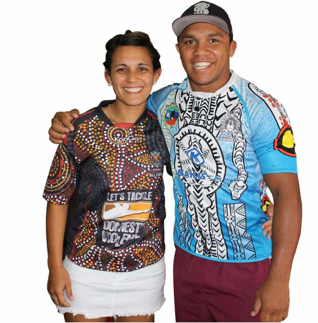 Naomi Bobongie and brother Travis Waddell continue to make headway in rugby league in Australia.
