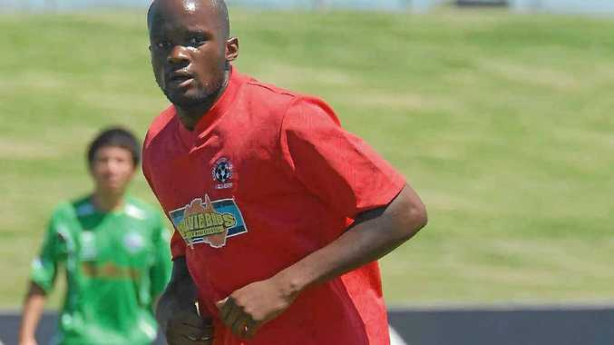 Frenchman Arnold Mouako has been trialling with the Whitsunday Miners.