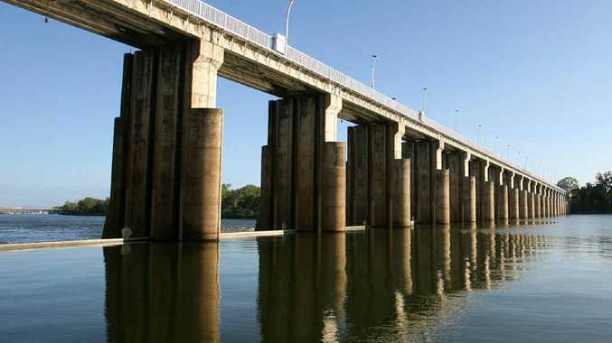 The gates have been opened at Rockhampton's barrage this week.