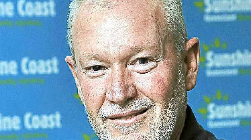 Sunshine Coast Destination chief executive Steve Cooper is feeling upbeat.