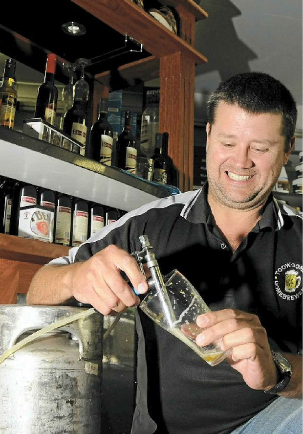 Peter Burton has witnessed first-hand the rise in popularity of home brewing.