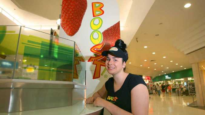 20-year-old Emily Perry is excited to take the helm as managerial director at the Boost juice bar in Stockland Rockhampton.