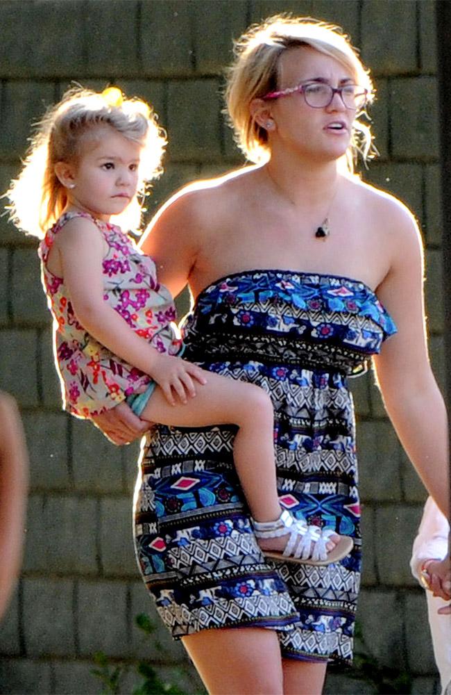 Jamie Lynn Spears with daughter Maddie