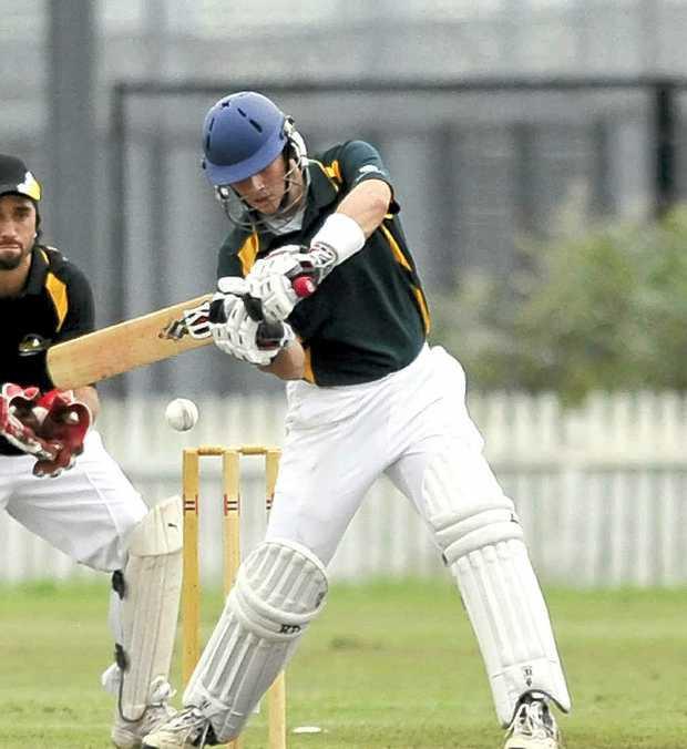 Shaws Bay Hotel batsman Nathanael Scott.