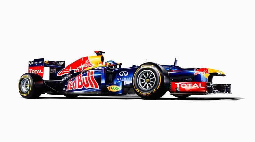 Red Bull Racing's RB8.
