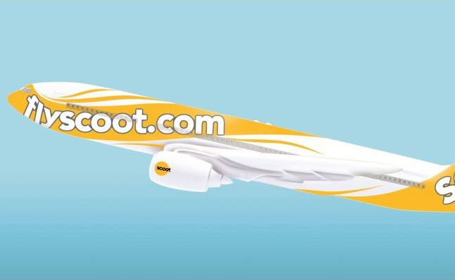 An artist's impression of a Scoot aircraft.
