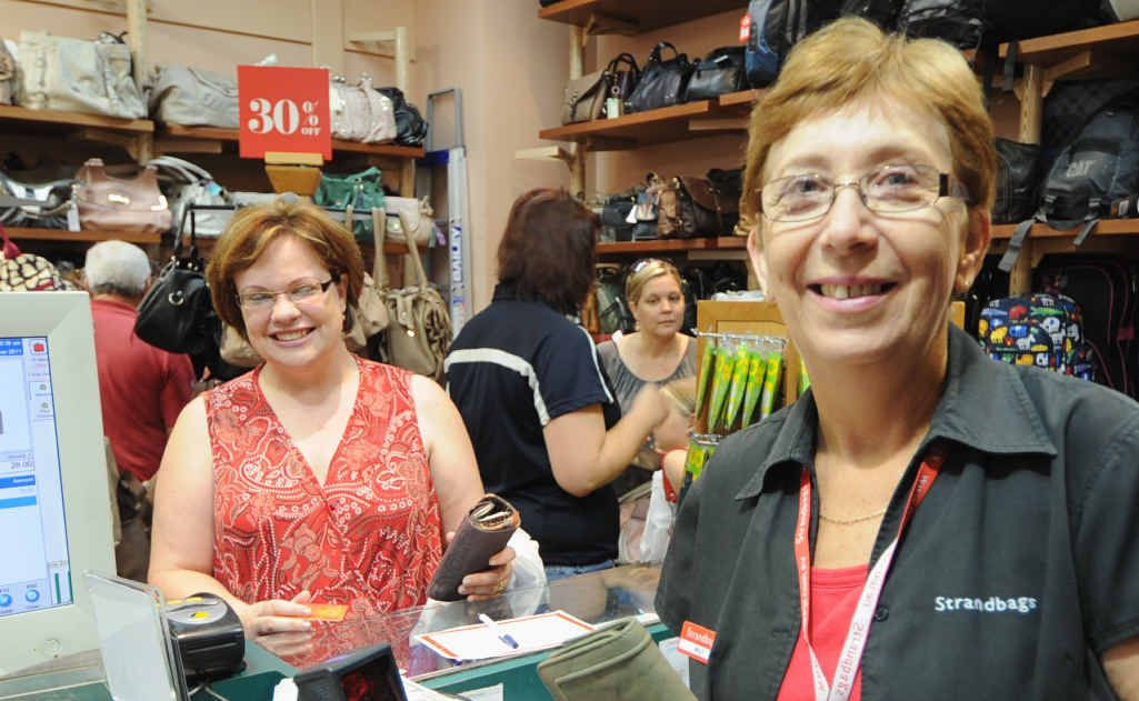 Hervey Bay Strandbag manager Milly Novac is part of a huge increase in the number of women in the workforce since 1961.