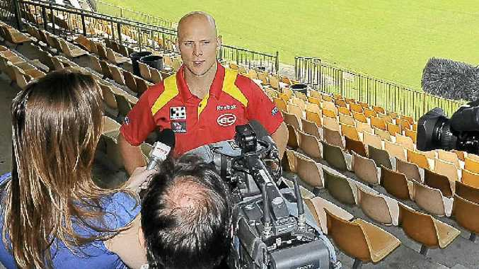 The Gold Coast Suns' Gary Ablett would love to come back to the Northern Rivers again to help promote Aussie Rules.