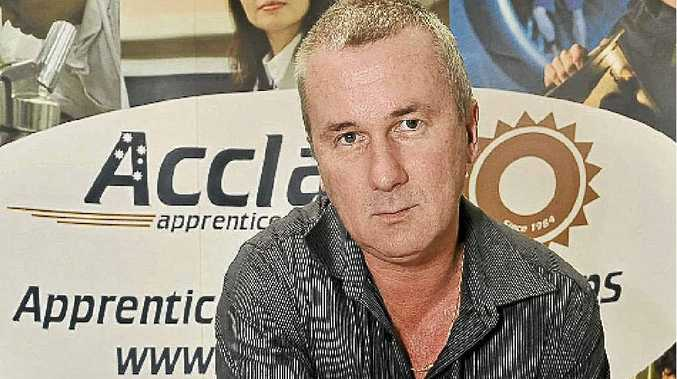 Acclaim Apprentices and Trainees general manager Robert Dunbar needs more apprentices to fill positions.