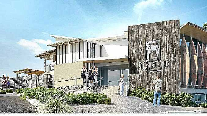 STUNNING REWORKING: Artist's concept drawings of how the Mooloolaba Surf Club will look after its $6.5 million renovations.