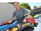EXTREME ADVENTURE: Piero Marusic will embark on a paddling expedition across Bass Strait today.