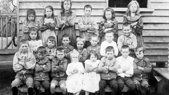 Woondum Provisional School students.