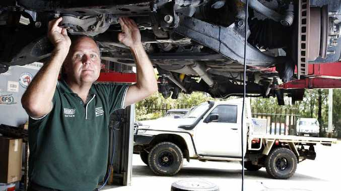 Queensland Diesel and Automotive Diagnostics owner Matthew Luke has to fix at least one car a week that has had unleaded fuel put into a diesel vehicle.