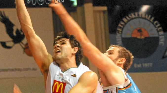 Todd Blanchfield is looking for a strong finish to the NBL season with the Townsville Crocs.