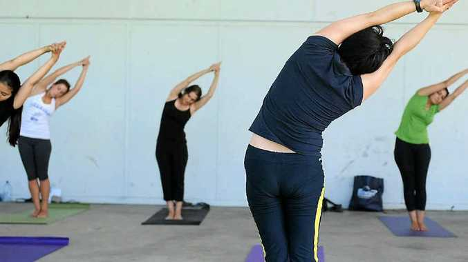 Mums to be can now connect with their unborn babies in a dedicated yoga class for pregnant women.