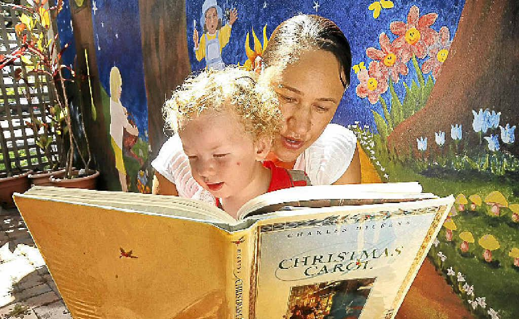 February 7th marked the 200th birthday of Charles Dickens. Discovering his books for the first time at the Caloundra City Library was one-year-old Ethan Taylor, with the help of his mum, Janelle.