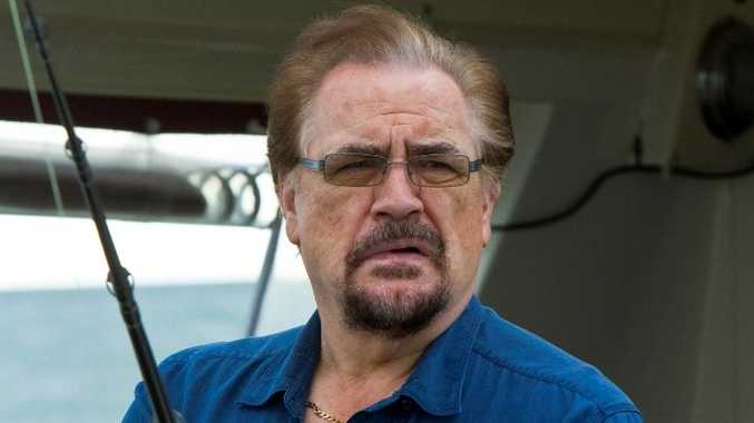 Brian Cox stars as Harry in the TV series The Straits.
