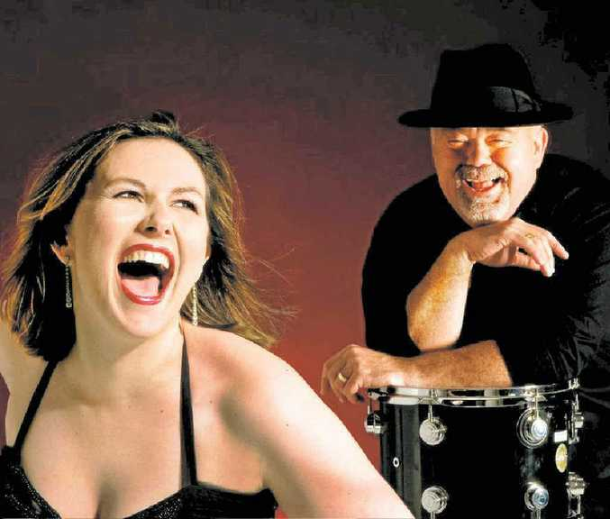 The headlining act at Shepherd and Dudley Chartered Accountants North Queensland Wine and Jazz Festival in March will be John Morrison and his Swing City Quintet with Jacki Cooper.
