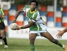 Fitzroy Gracemere speedster Daniel Pickering gets a pass away while playing club football last season.