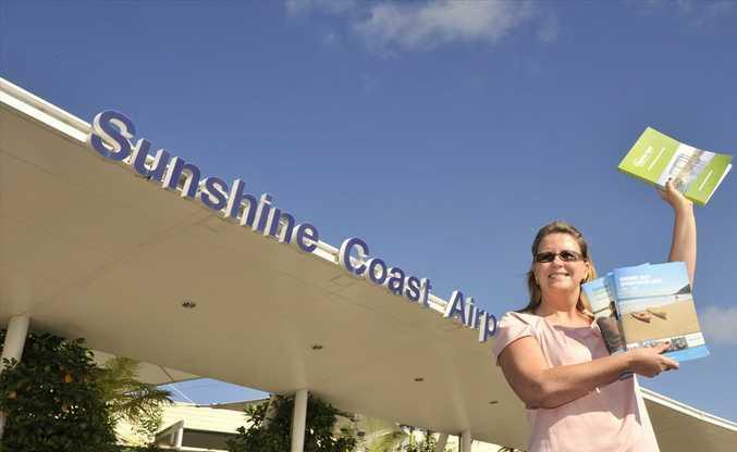 Sunshine Coast Destination Ltd marketing and branding director Veronica Rainbird.