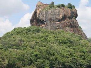 Sigiriya's dizzying rock fortress