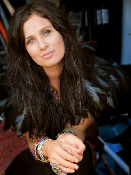 YOU'VE COME A LONG WAY: Kasey Chambers was a backup singer for Buddy Miller at Bluesfest in 1998.