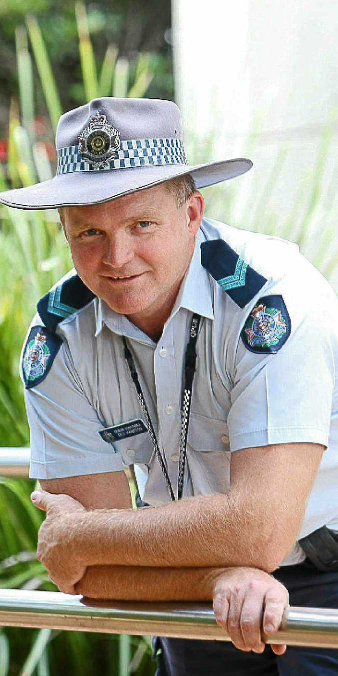 Senior Constable Des Hansson.