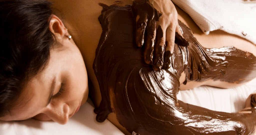 INDULGE: Enjoy a decadent chocolate massage.