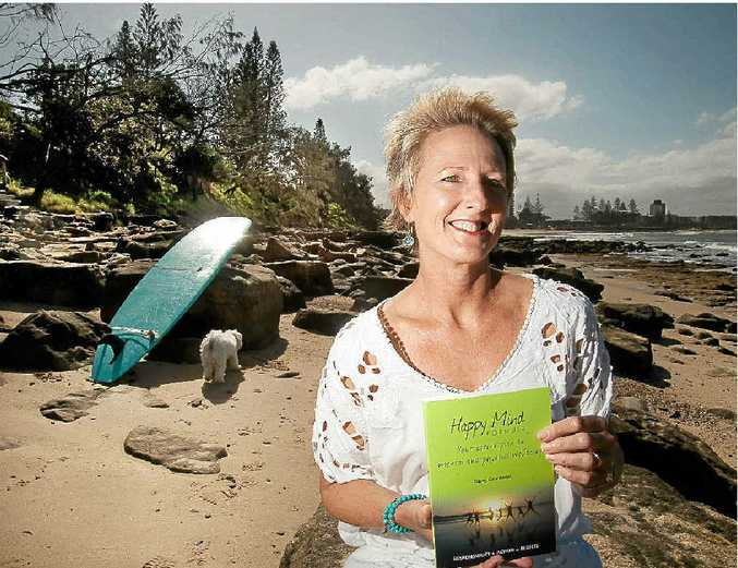 HAPPY: Tracey Carmichael has released a book about the formula for being happy.