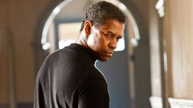 Denzel Washington in a scene from the movie Safe House.