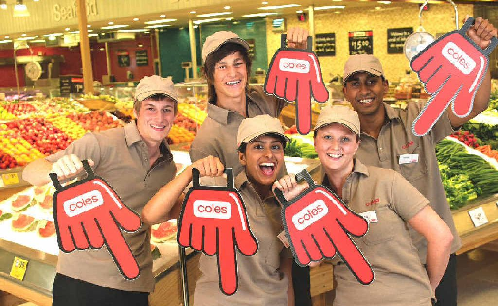 Coles opens its new Harbour Dr store on Wednesday.