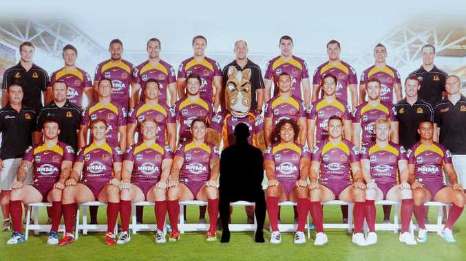 Fiona Jones outbid everybody yesterday for a place in a Broncos team photo.