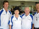 Clifton golfers (from left) Greg Dalgliesh, Genny Imhoff, Warren Williams and Rob Imhoff at the Endeavour Charity Day at the Warwick Golf Club.