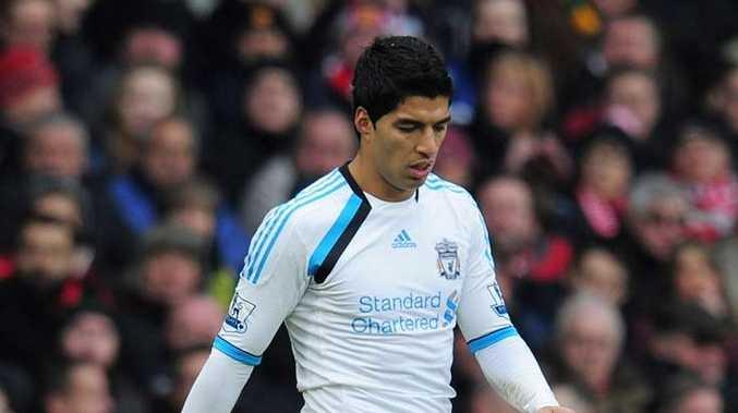 Liverpool's Luis Suarez.
